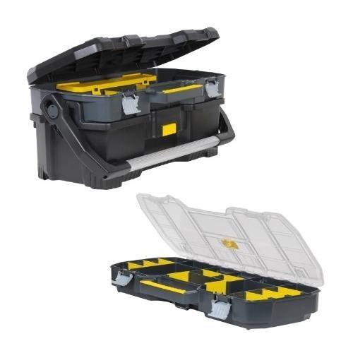 """STST1-70317 Stanley 19"""" įrankių dėžė su nuimamu organaizeriu"""