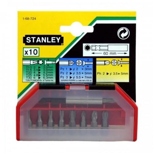1-68-724 Stanley 10 antgalių rinkinys