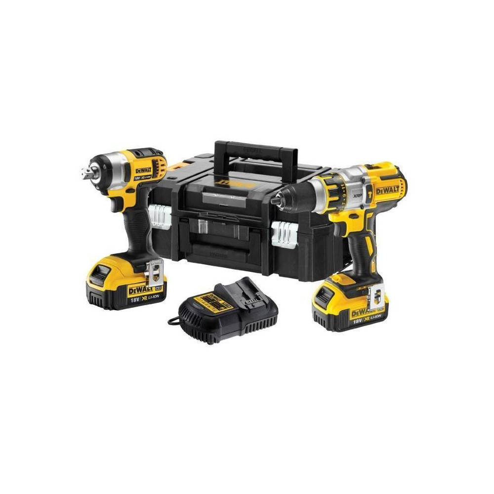 DCK254M2T Įrankių rinkinys Dewalt DCK254M2T (DCD995+DCF880) 18 V