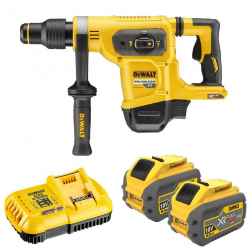 DCH481X2 DeWALT FLEXVOLT 54V perforatorius 40mm (2x9.0 Ah)