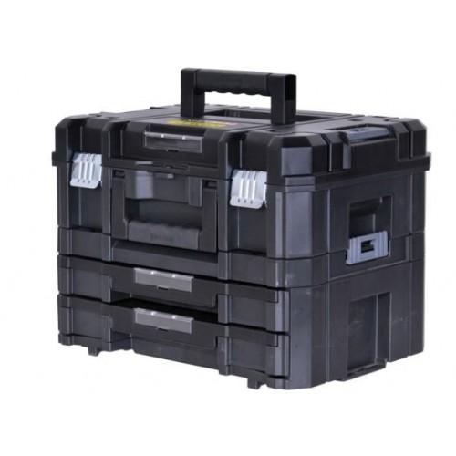 FMST1-71981 Stanley FatMax TSTAK įrankių dėžė su 2 stalčiais