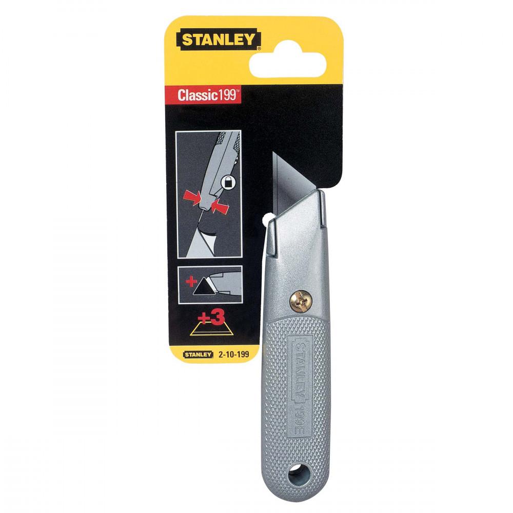 2-10-199 Stanley peilis fiksuojama geležte