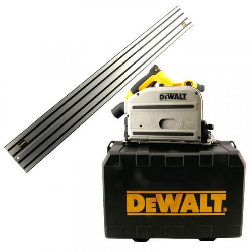 DWS520KR DeWALT 55 mm. diskinis pjūklas su 1,5 m liniuote