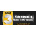 DW745 + DWE74911+ DCR020 DeWALT išilginio pjovimo staklės + DeWALT stalas + DeWalt radija