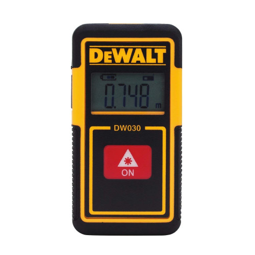 DW030PL  DeWALT akumuliatorinis lazerinis atstumo matuoklis