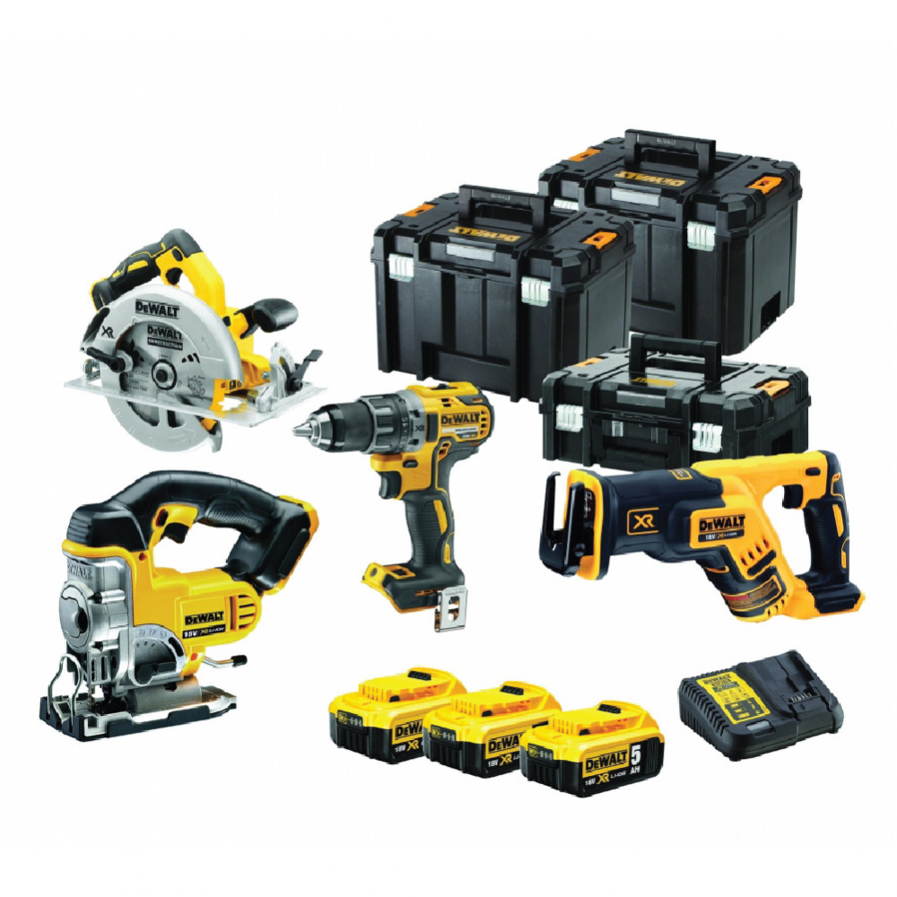 DCK421P3T DeWALT įrankių rinkinys