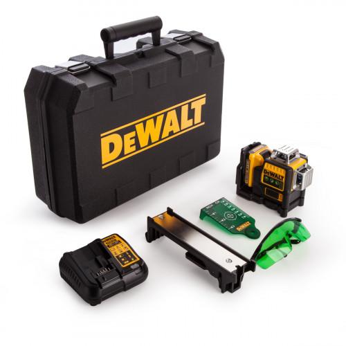 DCE089D1G DeWALT kryžminių linijų lazeris + DCD710 DeWALT gręžtuvas - suktuvas